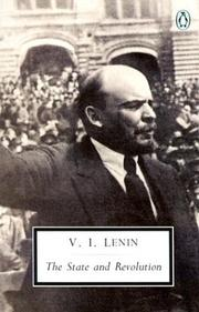 Cover of: The State and Revolution (Twentieth Century Classics)