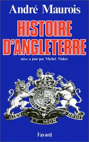 Histoire d'Angleterre by André Maurois