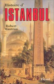 Cover of: Histoire d'Istanbul