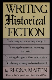 Cover of: Writing historical fiction | Rhona Martin