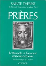 Cover of: Prières
