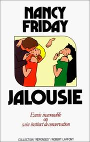 Cover of: Jalousie