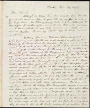 Cover of: [Letter to] Dear Sarah | William Lloyd Garrison