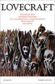 Cover of: Oeuvres de H.P.Lovecraft, tome 3