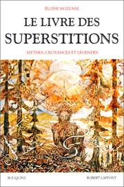 Cover of: Le livre des superstitions