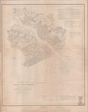 Preliminary chart of North Edisto River