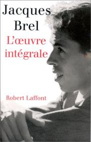 Cover of: Jacques Brel Complete Lyrics