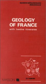 Cover of: Geology of France