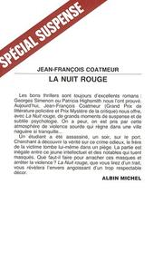Cover of: La nuit rouge