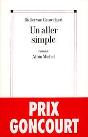 Cover of: Un aller simple