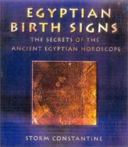 Cover of: Egyptian Birth Signs: The Secrets of the Ancient Egyptian Horoscope