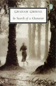 Cover of: In Search of a Character: Two African Journals:  Congo Journey and Convoy to West Africa (Twentieth-Century Classics)