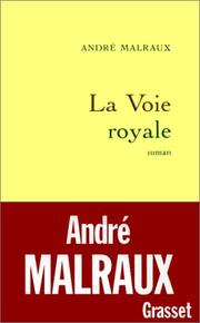 Cover of: La Voie Royale