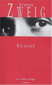 Cover of: Erasme