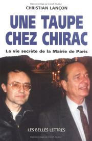 Cover of: Une taupe chez Chirac