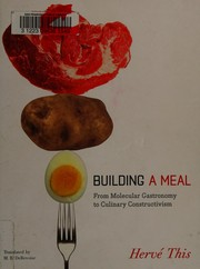 Cover of: Building a meal | Hervé This