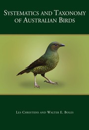 Cover of: Systematics and taxonomy of Australian birds | Les Christidis