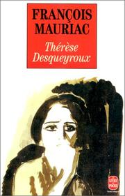 Cover of: Therese Desqueyroux