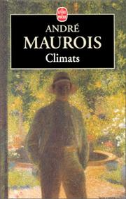 Cover of: Climats