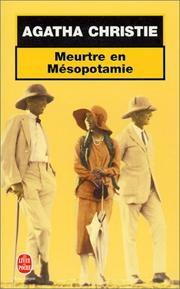 Cover of: Meurtre en Mésopotamie