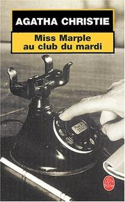 Cover of: Miss Marple au Club du Mardi