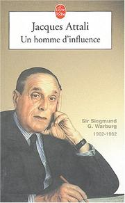 Cover of: Un Homme D'influence