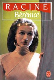 Cover of: Berenice by Jean Racine