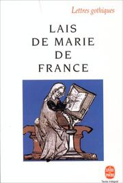 Cover of: Les Lais De Marie De France