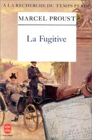 Cover of: La\Fugitive: (Albertine disparue)