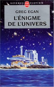 Cover of: L'Enigme de l'univers