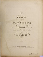 Cover of: La favorite | Gaetano Donizetti