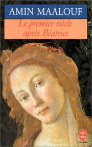 Cover of: Le Premier Siecle Apres Beatrice