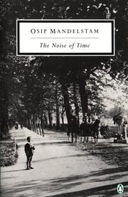 Cover of: The Noise of Time | Osip MandelК№shtam