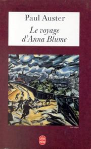Cover of: Le Voyage d'Anna Blume