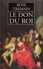 Cover of: Le don du roi