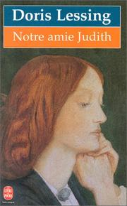Cover of: Notre amie Judith