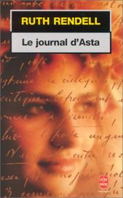 Cover of: Le journal d'Asta