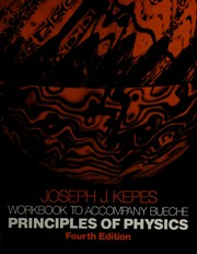 Cover of: Principles of Physics, Workbook | Frederick J. Bueche