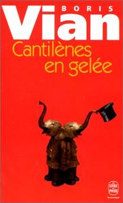 Cover of: Cantilenes en Gelee