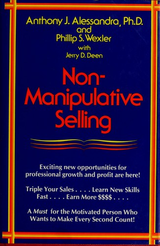 Non-manipulative selling by Anthony J. Alessandra
