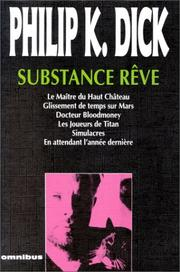 Cover of: Substance rêve