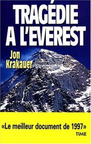 Cover of: Tragedie A L'Everest