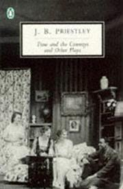 Cover of: Time and the Conways and Other Plays