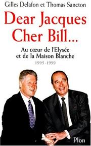 Cover of: Dear Jacques, cher Bill