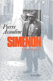 Cover of: Simenon