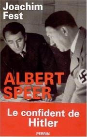 Cover of: Albert Speer: Conversations With Hitler's Architect