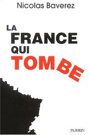 Cover of: La France Qui Tombe