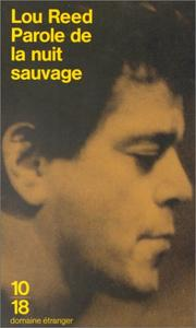Cover of: Parole de la nuit sauvage