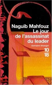 Cover of: Le jour de l'assassinat du leader