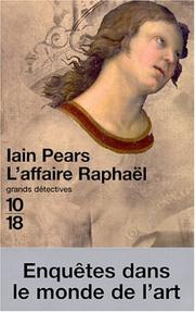 Cover of: L'Affaire Raphaël